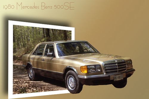 1980 mercedes benz 500se my baby i 39 ve had this euro for Mercedes benz 500se