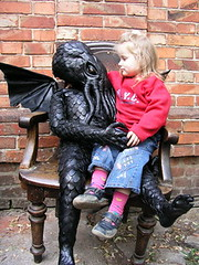 Large Leather CTHULHU DOLL ON EBAY