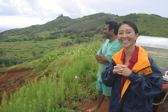 pitcairn island farm steve christian shows off the farm flickr