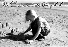1st time at Beach - Sentimental Photo Friday | by Carrie Queen of Scots