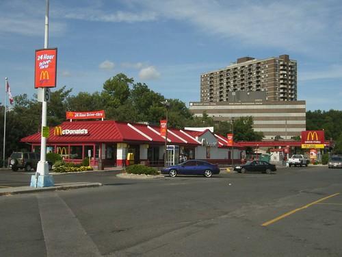 The Mcdonald S Outside Billings Bridge Plaza Here S The