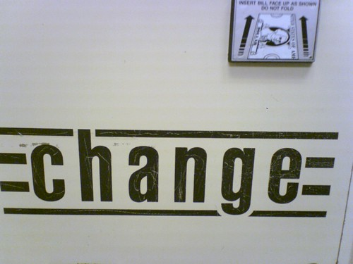 change | by the c-side