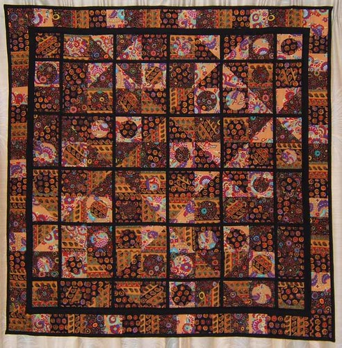 """Animado"" - Kaffe-style quilt 