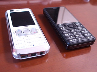 freetel Simple & Nokia NM705i | by jiminy nseries