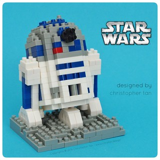 Nanoblock R2-D2, by inanoblock, on Flickr
