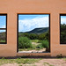 Window to the mountains