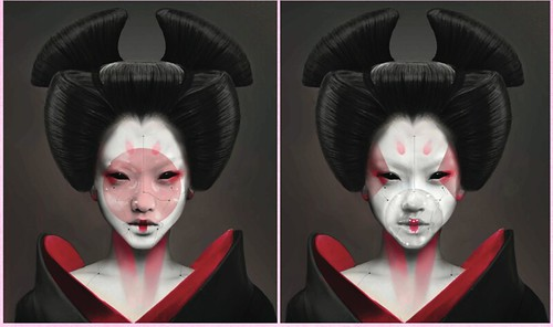 Geisha Robots Of Ghost In The Shell Live Action Anime