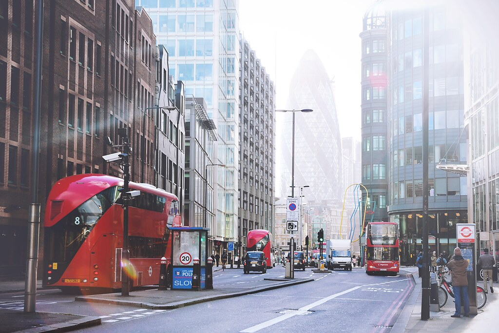 The City, London | via It's Travel O'Clock