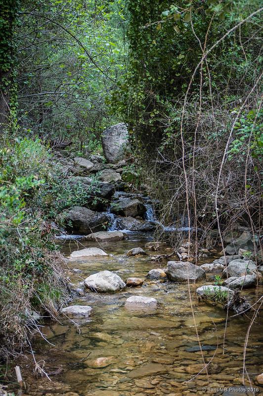 Cruzando el río Glorieta