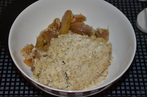 rhubarb crumble Jan 17