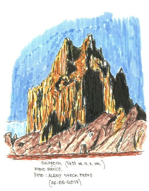 Shiprock (2.188 m.s.n.m.)