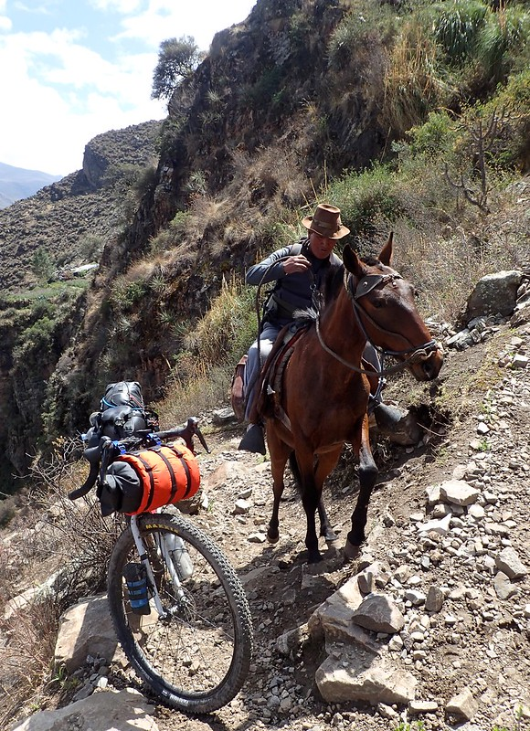 Caminos de mulas... Y de burros.