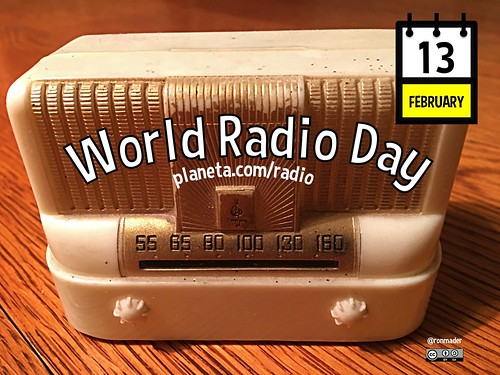 February 13 is World Radio Day @UNESCO