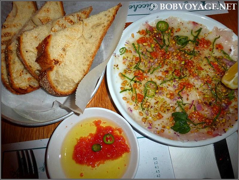 קרפצ'יו אינטיאס ולחם ב- צ'יקטי - Cicchetti
