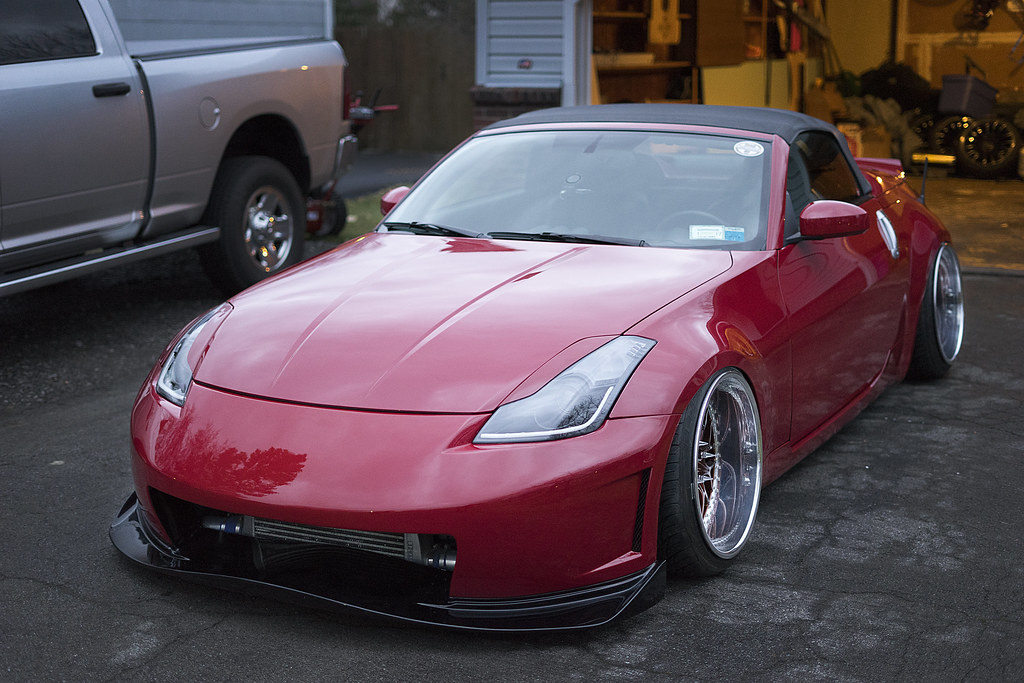 Nissan 370Z Convertible >> Irish's Build Thread - Bagged/Boosted Z Roadster - MY350Z.COM - Nissan 350Z and 370Z Forum ...