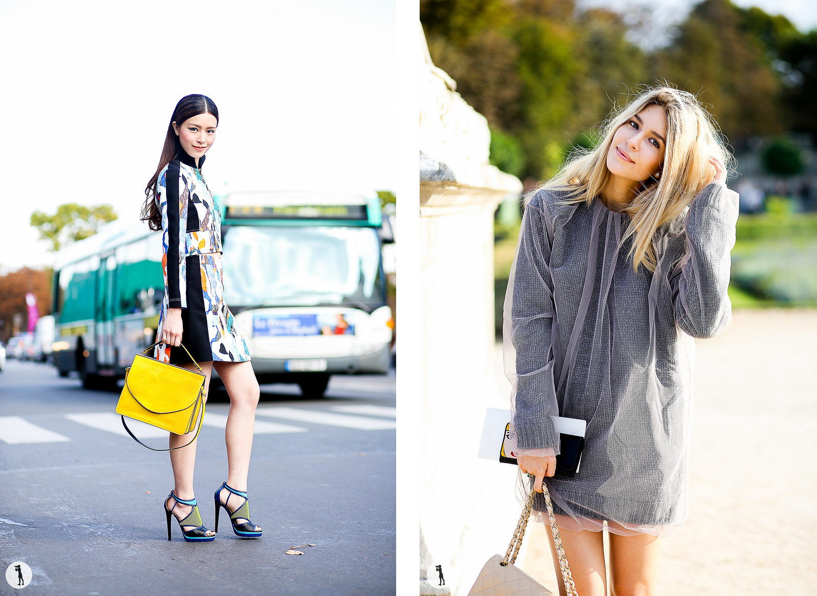 Street style - Paris fashion week RDT SS15