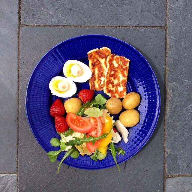 summer lunch, karlskrona