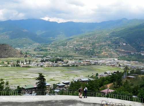 View from the Hotel - Mandala Resort Garden, Paro | by moon@footlooseforever.com