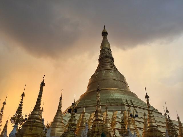 Shwedagon Pagoda (Yangón, Myanmar)