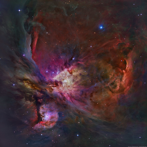 M42 - Orion Nebula (Hubble Legacy Archive)   My tribute to ...