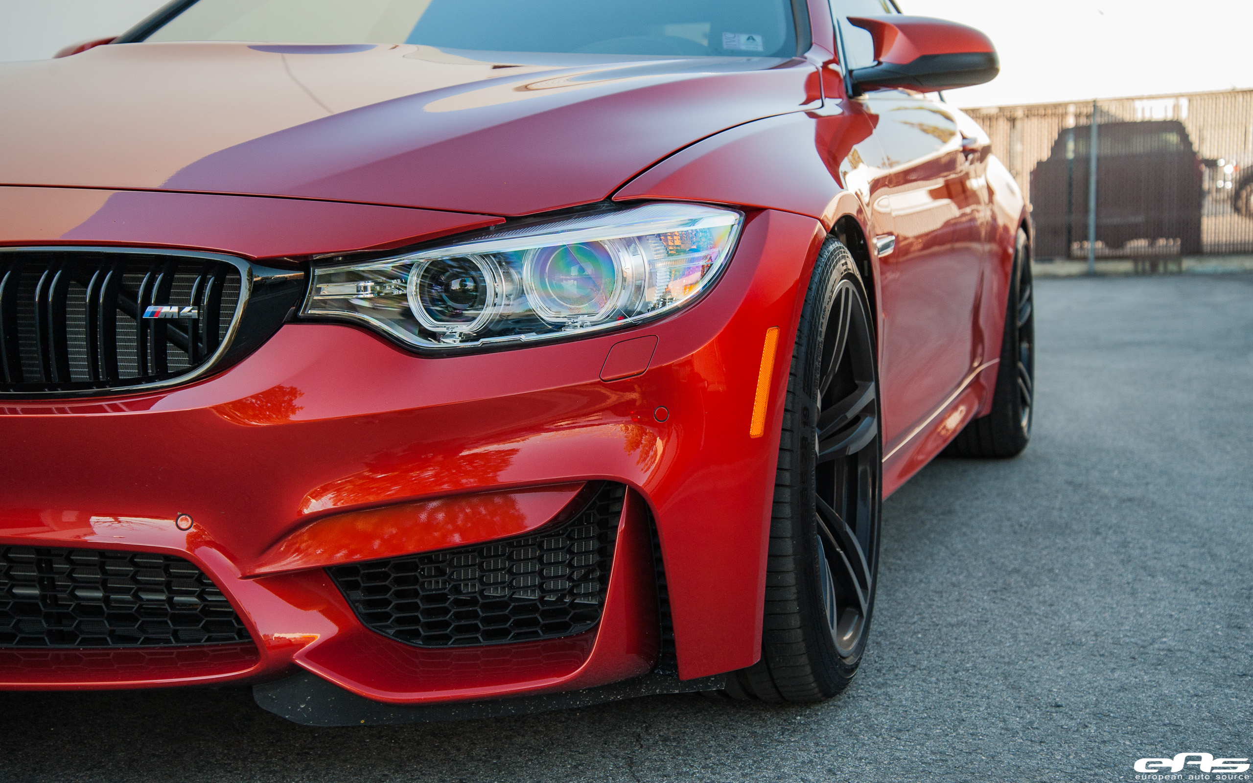 Sakhir Orange F82 M4 Macht Schnell Spacers And Springs Bmw