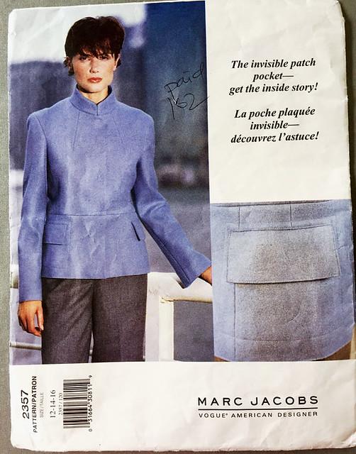 Vogue 2357 pattern envelope