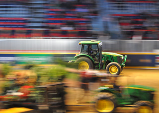 Slow-shutter tractor panning - why not? | by Richard Wintle
