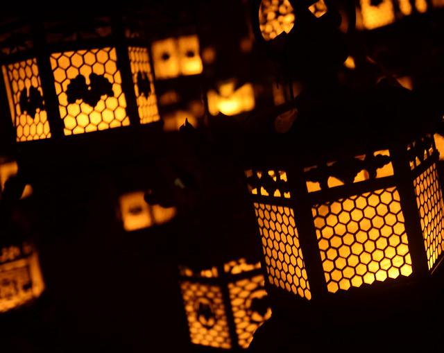 Faroles del templo de Kasuga