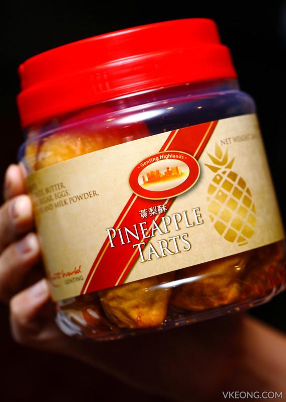 Genting Pineapple Tarts