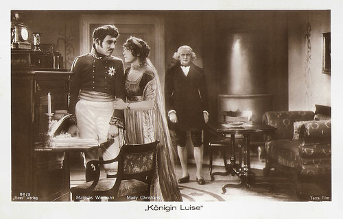 Matthias Wieman and Mady Christians in Königin Luise (1927)