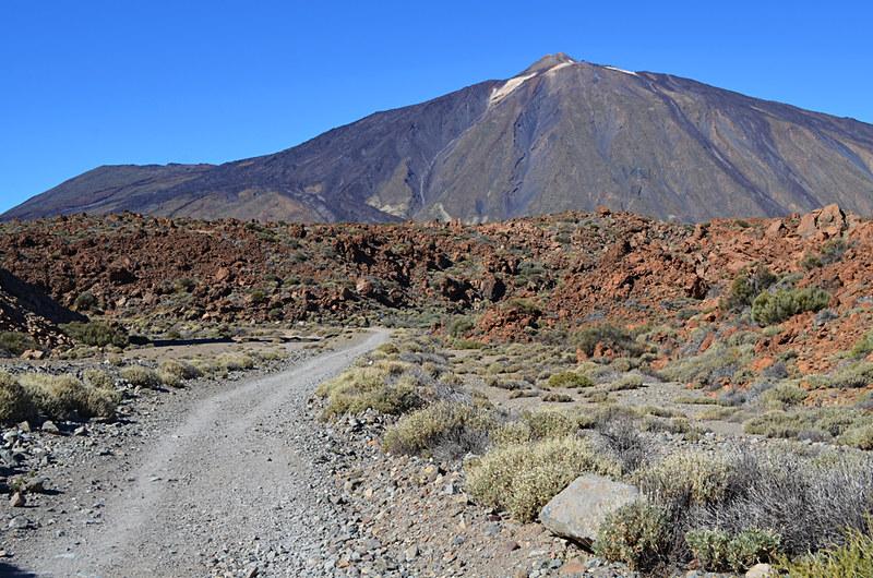 Walking Siete Cañadas, Tenerife, Canary Islands