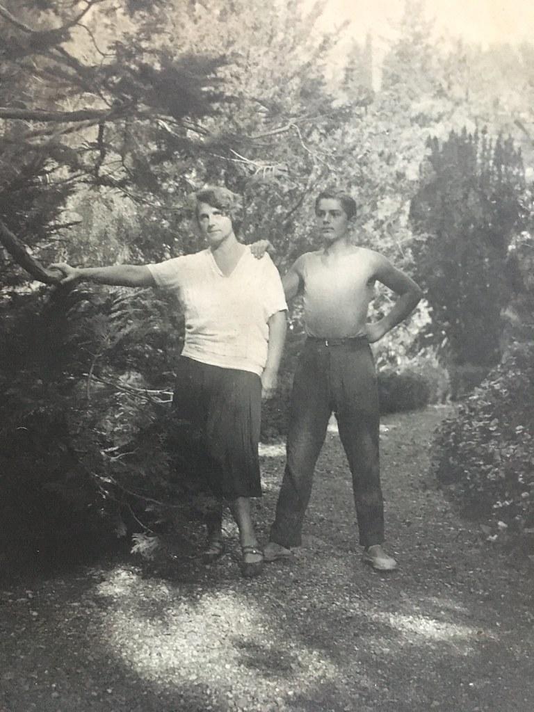 Лилли Германовна и отец