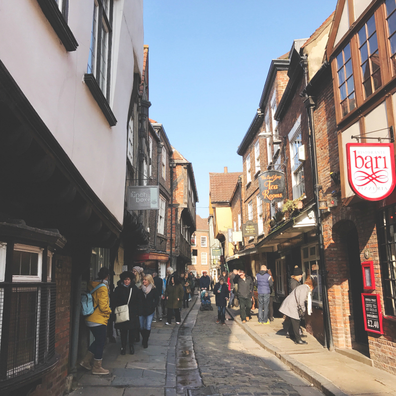 romantic guide to york blog the shambles