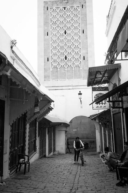 Bike in the medina