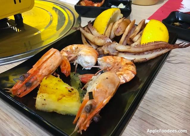 Omaya Malaysia - 1200mm Korean BBQ Skewer - Seafood