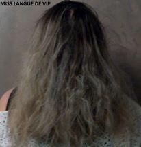 test cheveux mi-longs frissés Fer à lisser professionnel TRENDYLISS PINK