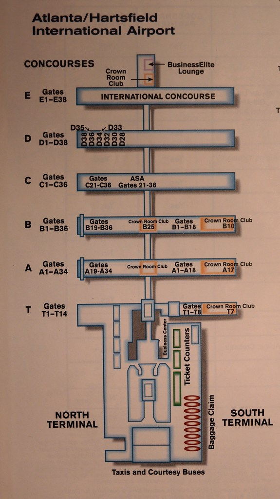 Delta Atlanta Airport Diagram 2000 A Delta Air Lines Term Flickr