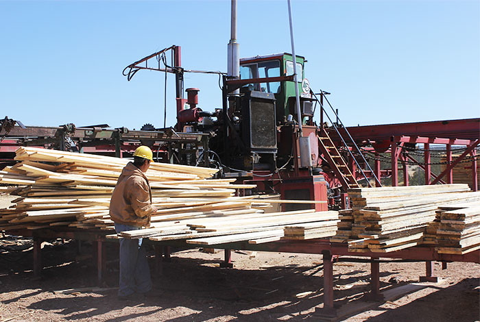 Walatowa Timber Industries of Jemez Pueblo, one of last year's Native American VAF recipients.