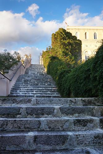 Taormina staircase