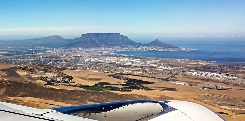 Anflug Kapstadt