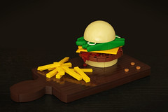 The Iron Burger* by Legopard