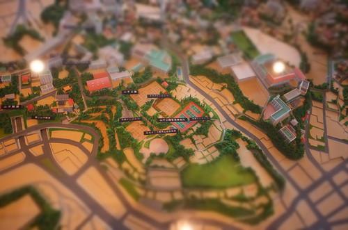 miniaturized diorama
