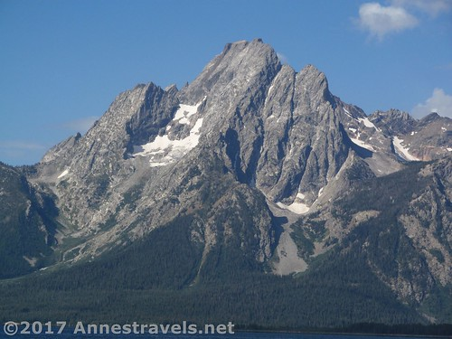 Mt. Moran from the Lakeshore Trail, Grand Teton National Park, Wyoming
