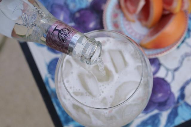 Jasmine Fizz Cocktail with Fever-tree