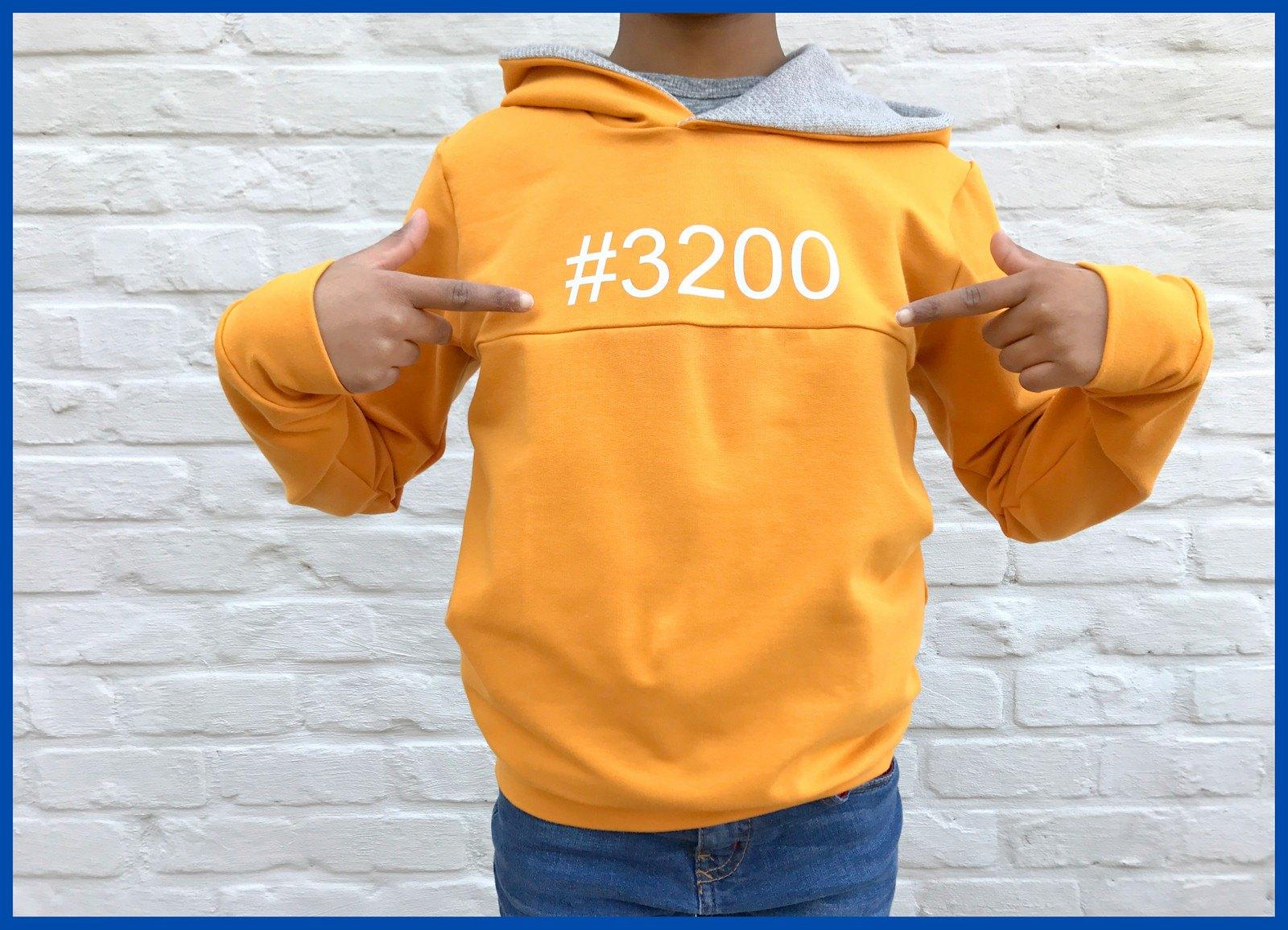 yellow hoodie 1