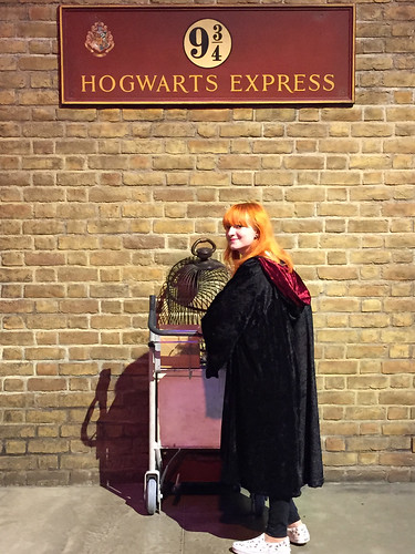 Harry Potter Studios Platform 9 3/4