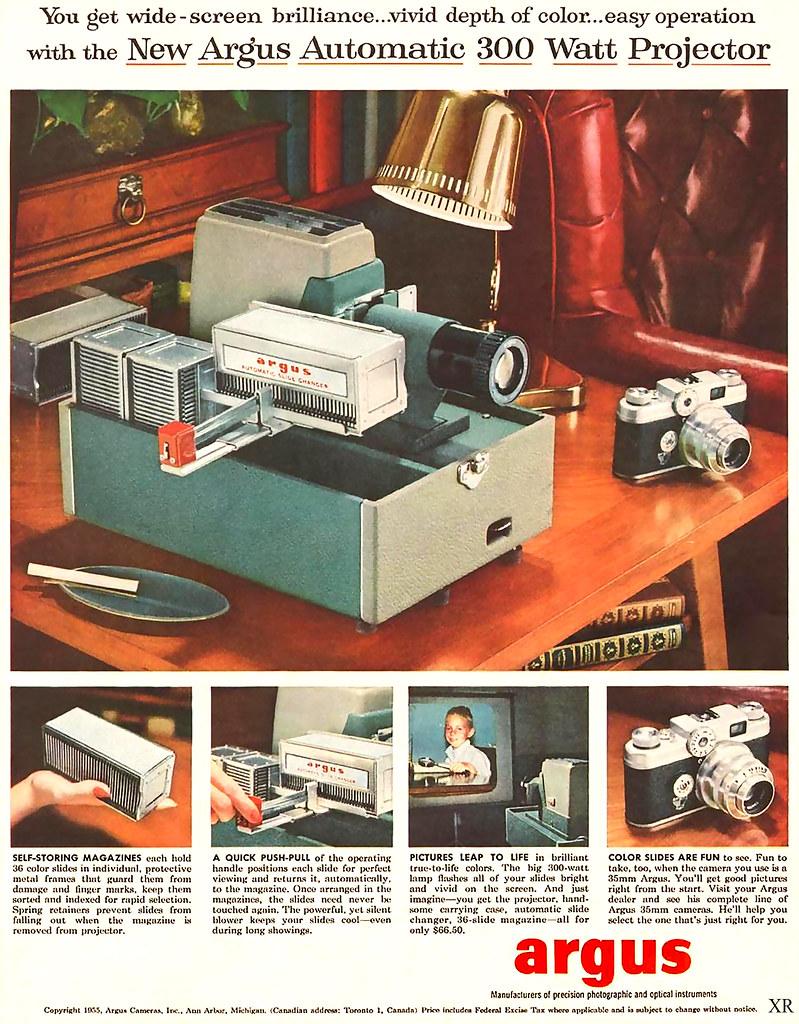 1955 ... Grandpa's projector!