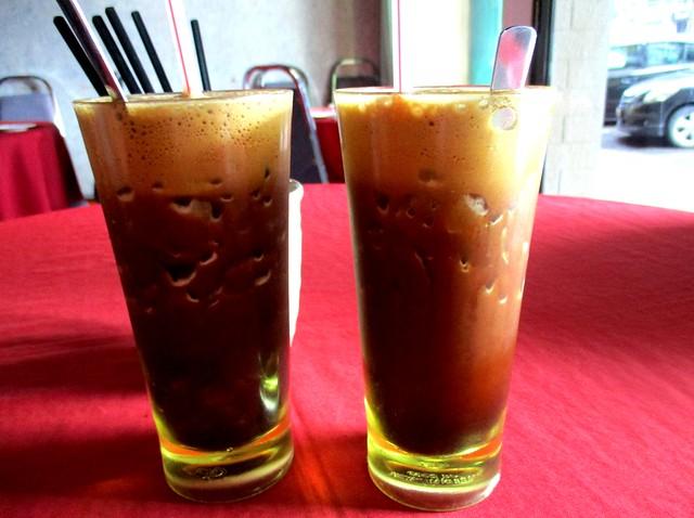 Ruby Restaurant blended kopi-o-peng