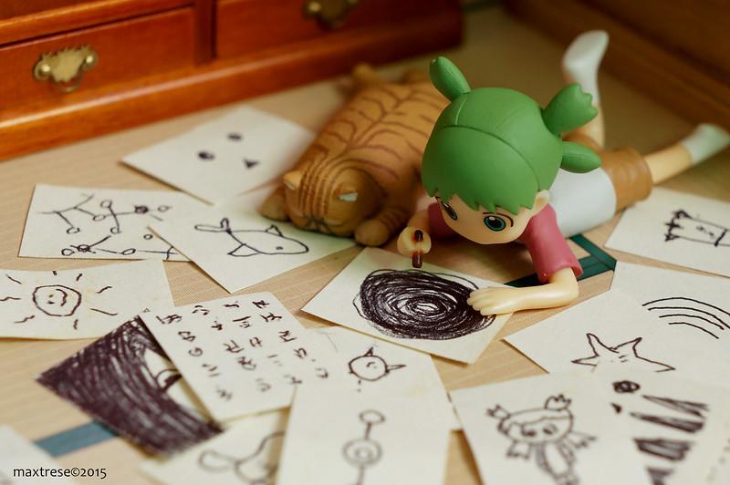 Yotsuba drawing