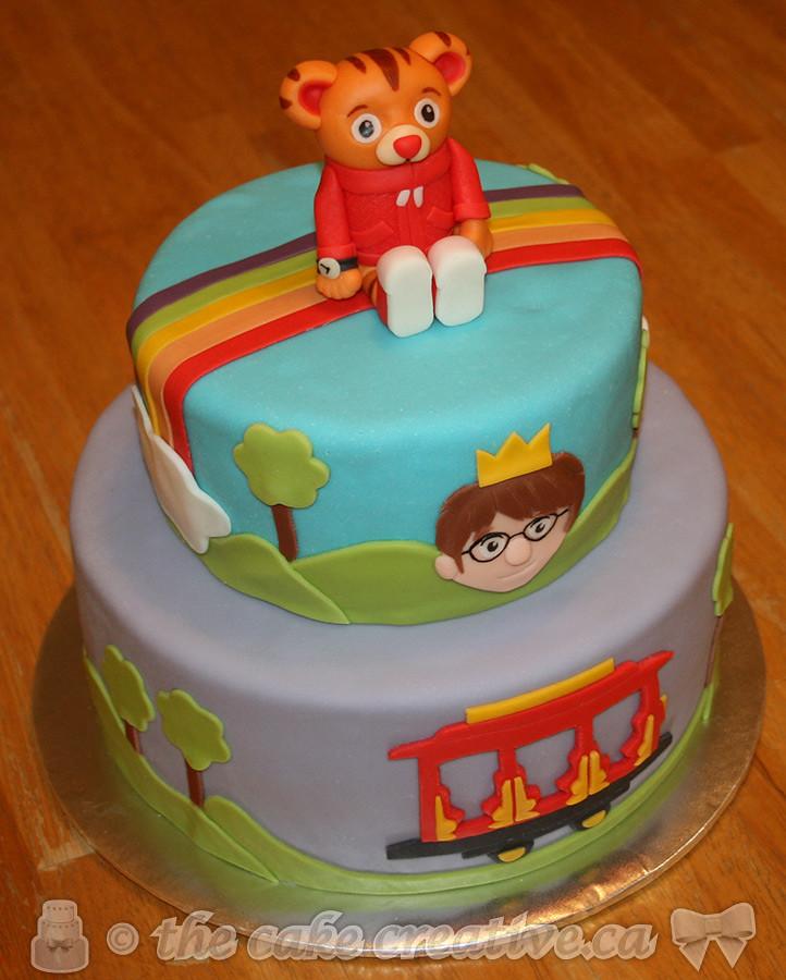Fondant Tiger Cake Topper